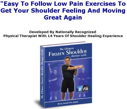 Natural Frozen Shoulder Treatment Book - European Medical